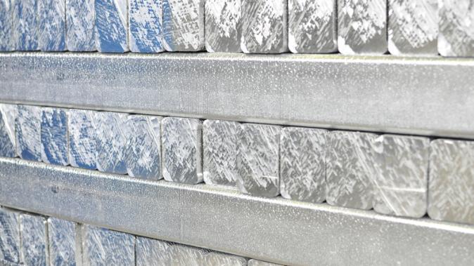 Barre d'alumium brut Dejoie