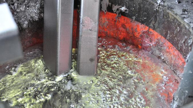 cuve aluminium fonderie Dejoie