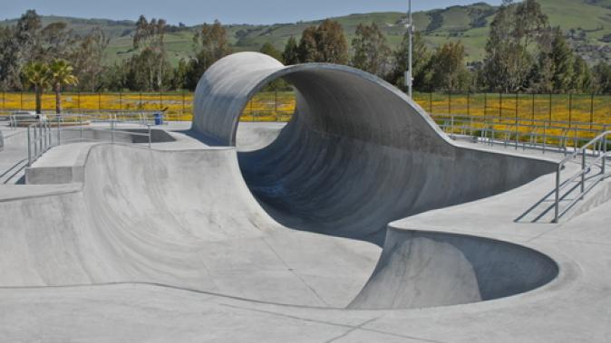 Pièce alu pour Skate parc Dejoie