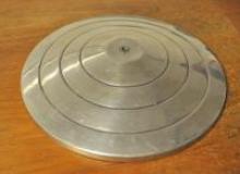 Platine de table en aluminium